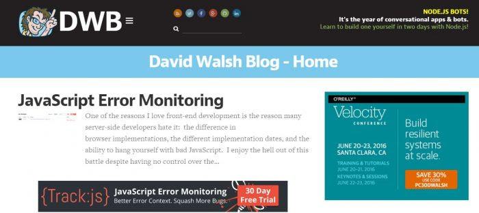 top javascript blogs